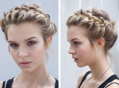 hairband braid... i need to get this one down.