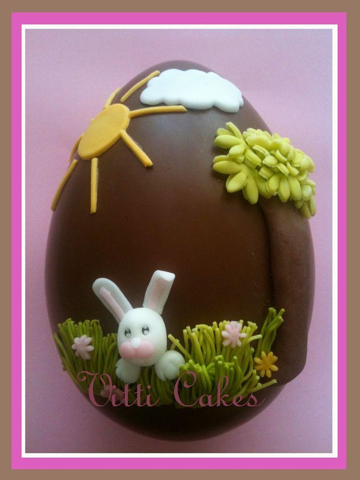 1000 images about pasqua uova cioccolato e decorazioni on pinterest - Uova di pasqua decorate ...