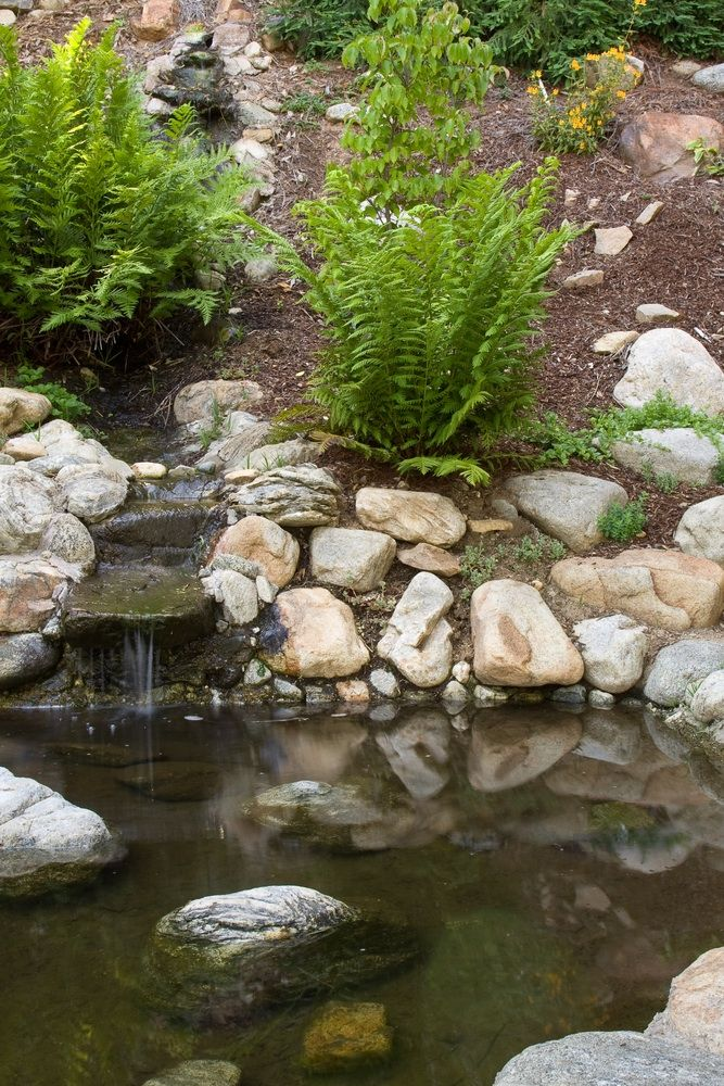 Small garden pond  > finishing the sides of the tub...