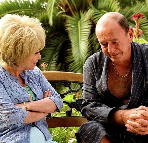 Peggy and Frank Butcher - Eastenders - played by Barbara Windsor and Mike Reid.