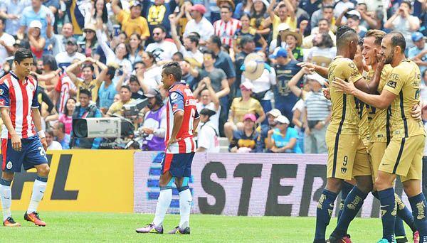 Palencia y Pumas debutan con triunfo sobre Chivas