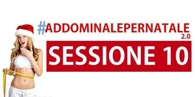 Addominale per Natale - Sessione 10