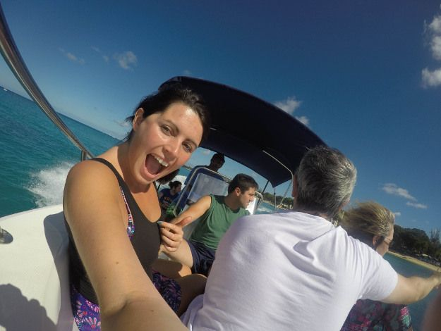 """Maria's memories of last year's holiday to Barbados - """"I really appreciated getting out on the water in Barbados and tried my hand at as many water sports as I could fit in! Sea kayaking, paddle boarding and snorkelling were all great to experience, and also gave me the chance to get up close to the turtles and tropical fish."""""""