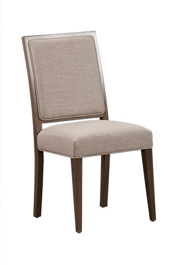 Selected Kitchen Chairs x 4: Finish & Material TBD Anne - like - UPPER - Custom Craft - #7428 Geneva Arm Chair with upholstered Living Seat Webbing - Dine Art Alternate style idea, has an arm side to