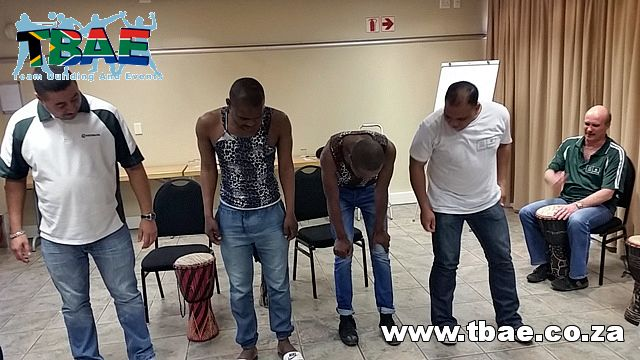 Nedbank Drumming Team Building Cape Town #Nedbank #Drumming #TeamBuilding