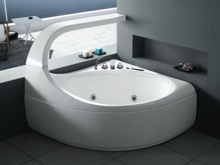 1000 id es sur le th me baignoire d 39 angle sur pinterest. Black Bedroom Furniture Sets. Home Design Ideas