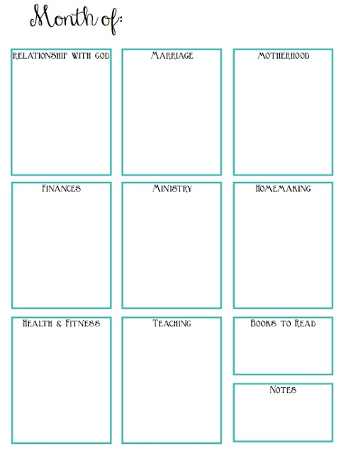 Calendar Year Goals Record : Best ideas about goals printable on pinterest set