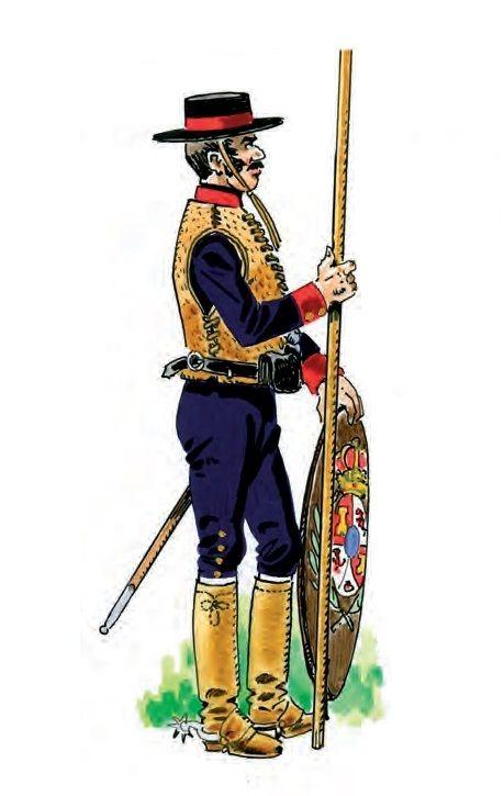 Dragones de Cuera 1804