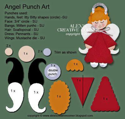 Alex's Creative Corner: Angel tag