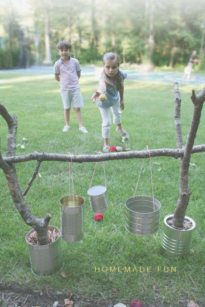 Giochi a 0 budget per realizzare un parco giochi nel giardino condominiale