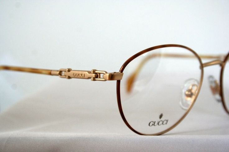 Vintage Gucci Glasses Frame : Vintage GUCCI GG 2384 gold with dark turtle Designer ...