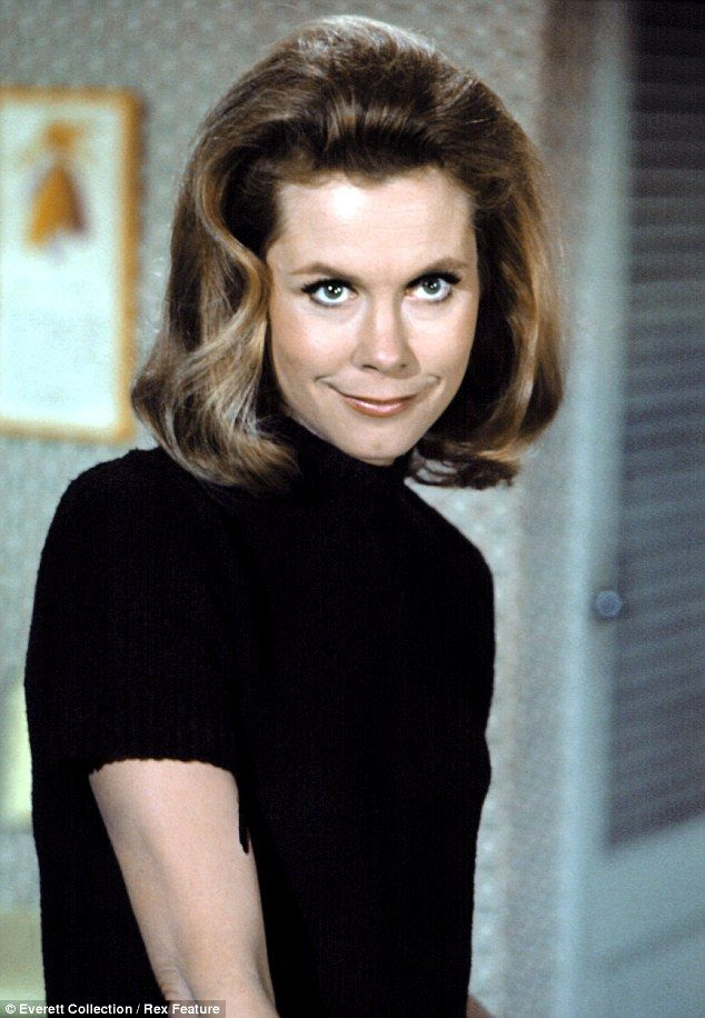 The salacious 'other' life of TV's most beloved witch: Tell-all book reveals how Bewitched star Elizabeth Montgomery cast a spell over America's most famous bad boys