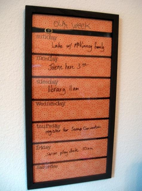 Just might make one..: Weeks Menu, Gifts Ideas, Menu Boards, Menu Planners, Weeks Schedule, Weeks Calendar, Memo Boards, Pictures Frames, Weeks Planners