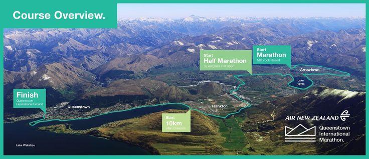 Race Info. » Queenstown International Marathon