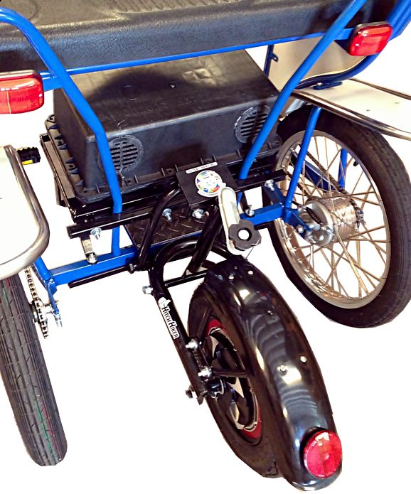 Electric Motor Kits For Push Bikes: Electric Pedal Assist, Electric Surrey Bike, Electric