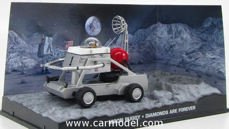 EDICOLA BONDCOL031 1/43 007 MOON BUGGY 1971- JAMES BOND 007 - DIAMONS ARE FOREVER