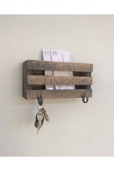 Wooden Shelf & Hanger