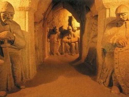 Jeskyně blanických rytířů v Rudce