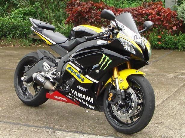 yamaha r6 2008 monster - 20150117  #yamaha #r6 #monster #sportbike #motorcycle