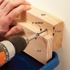 Recycling Bin Storage- this is the holder. Hang on the wall.