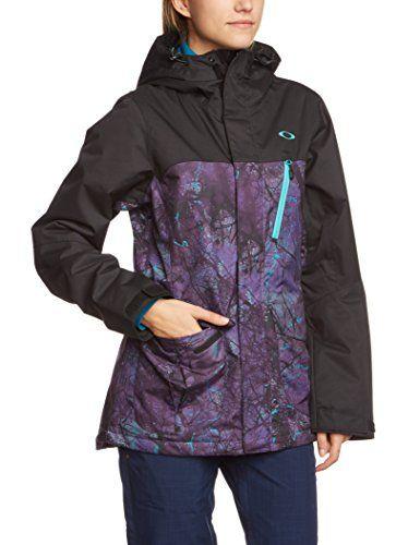 Oakley Women's Kilo Insulated Jacket, Helio Purple Forest, X-Large Oakley  http: