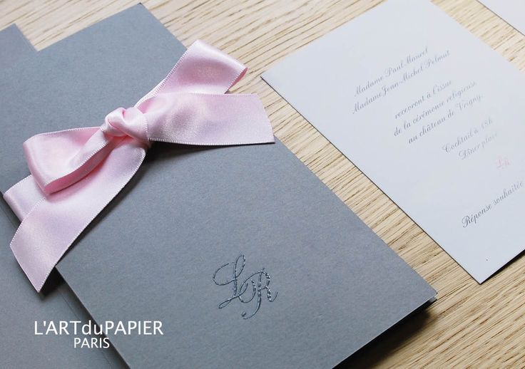 Parts Of Wedding Invitation: Faire-part & Papeterie On