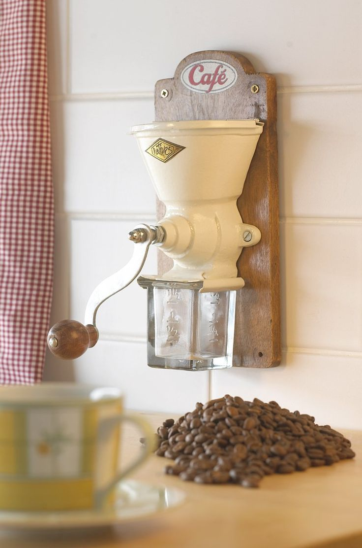 Molinillo de café de estilo Australes y antárticas francesas - Cafe FR006: Amazon.es: Hogar