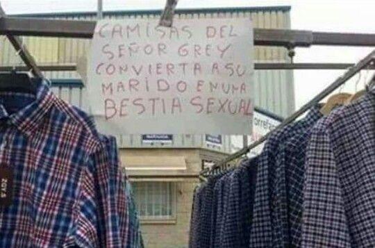 50 camisas de Grey