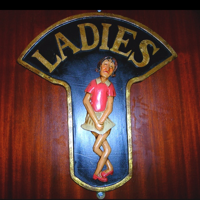 Ladies'.  Pub in Miltown Malbay, Co. Clare.