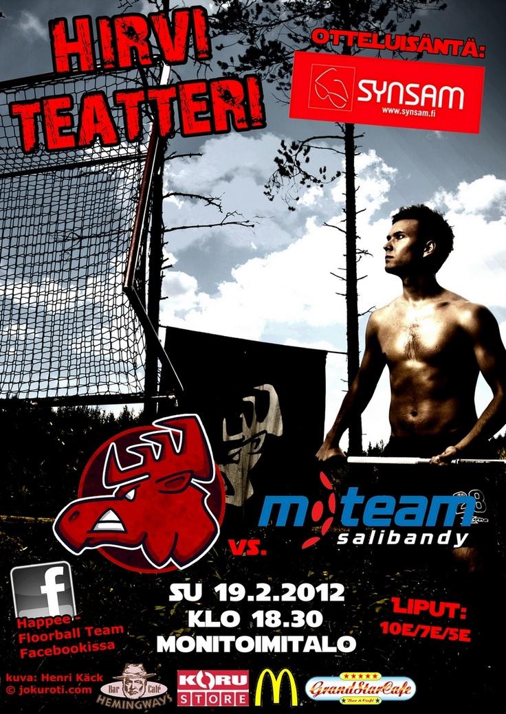 #haapamäki #floorball #salibandy #poster
