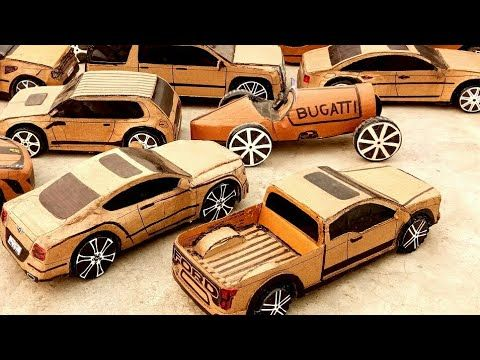 How To Make a cardboard rc car, cardboard rc truck, rc ambulance rc tractor, rc bus rc truck diy toy - YouTube