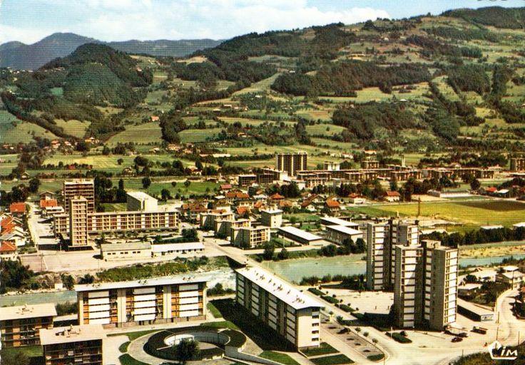 Cluses (Haute-Savoie), les HLM de Messy.