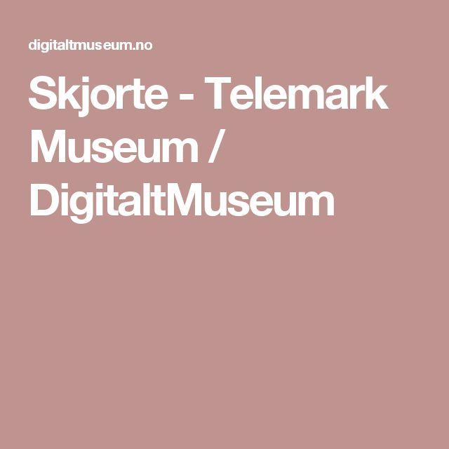 Skjorte - Telemark Museum / DigitaltMuseum
