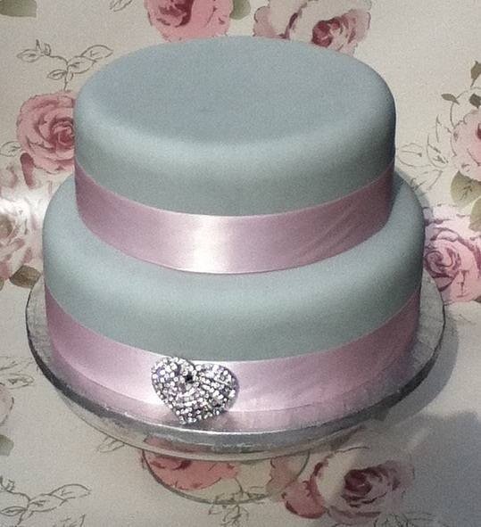 two tier cake decorating class