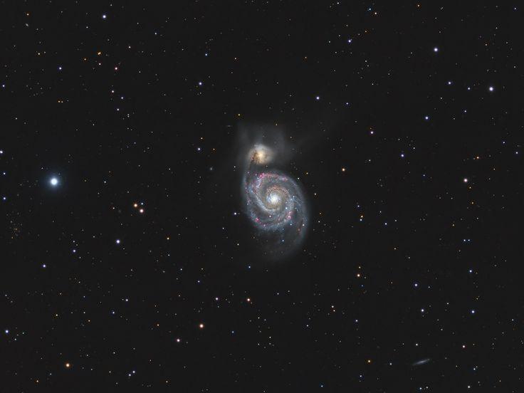 Messier 51 - Whirlpool Galaxy [2048 x 1536]