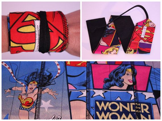CrossFit Wrist Wraps - Wonder Woman, Super Girl, BatgirlWonder Woman