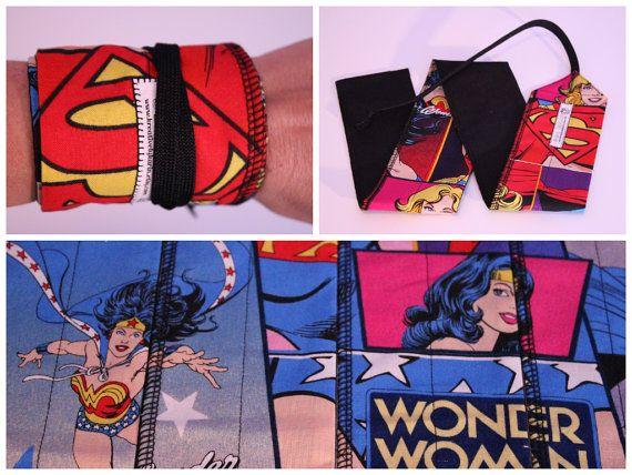 CrossFit Wrist Wraps - Wonder Woman, Super Girl, Batgirl