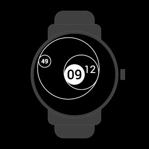#tangent #geometry #analog #digital #dots #circles #watchface #smartwatch #wearable #androidwear #lggwatchr #moto360 #design #apparel