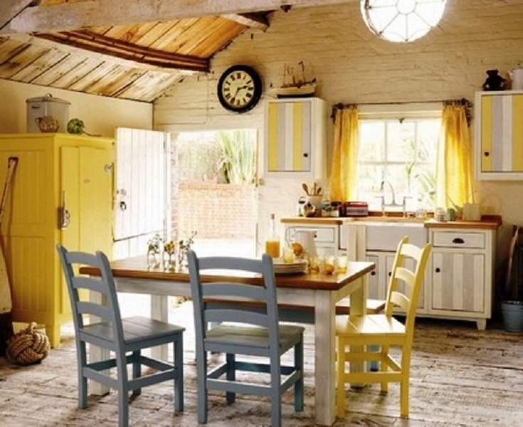 Rustic beach decor k chen gestaltungsideen pinterest for D kitchen andheri east