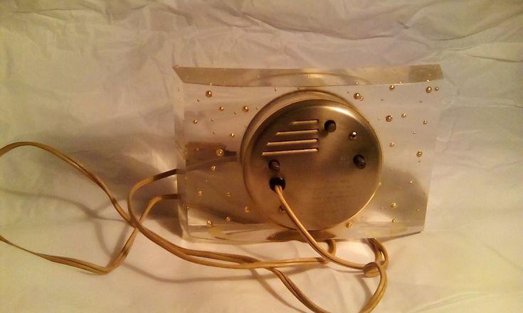 Vintage Seth Thomas Splendor Electric Clock Model SS7P | eBay