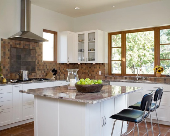 124 best images about interior colors on pinterest for White kitchen cabinets with oak trim