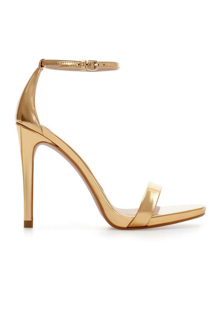 The 25  best Gold sandal heels ideas on Pinterest | Gold heels ...