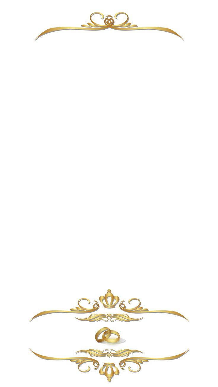 elegant golden ornamental wedding snapchat filter geofilter maker on filterpop fondo de. Black Bedroom Furniture Sets. Home Design Ideas