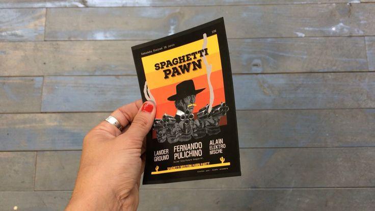 Spaghetti Pawn western party