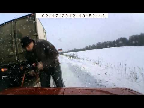 Random Acts of Kindness caught on film  - In Russia, all cars are required to have a video dash cam. Check out the incredible situations it captured.