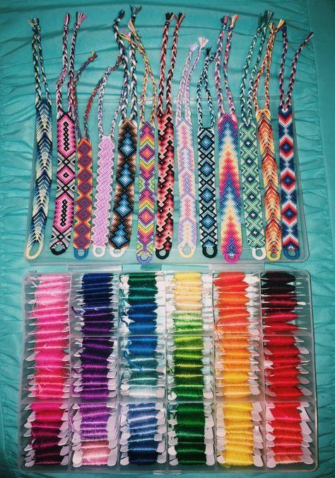 b118ff627cb89 VSCO - kaileehollisterr | CRAFTS | Embroidery bracelets, Bracelets ...