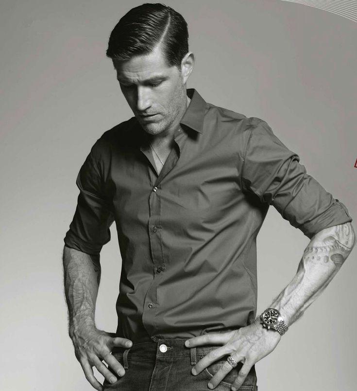 Matthew Fox Retro Hairstyle » Hairstyles for Men