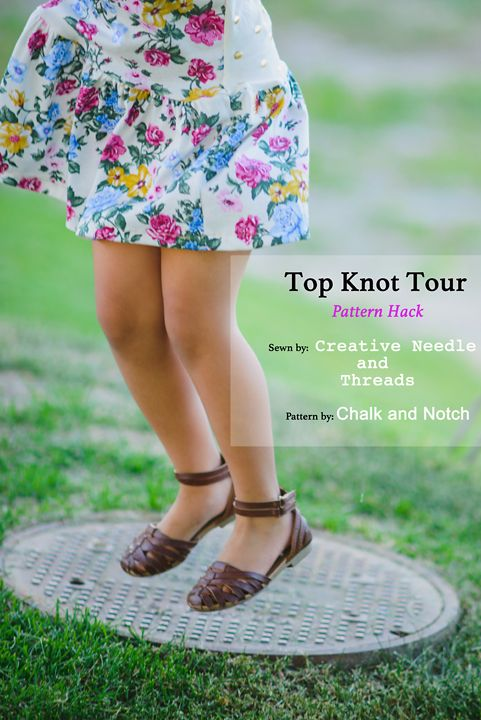Creative Needle and Threads: Top Knot Tour- Pattern Hack!