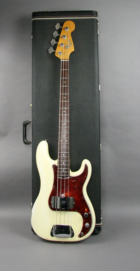 1966 VIntage Fender Precision Bass Guitar Olympic White USA All Original. I Have This Exact Same Bass. 50 Years Old This Year!