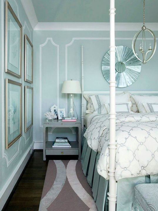Light Blue And White Bedroom 121 best bedroom images on pinterest | bedrooms, home and master